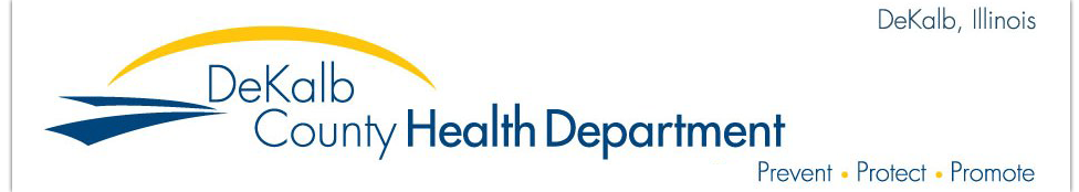 DeKalb County Health Department Logo