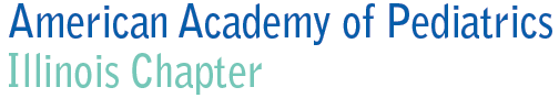 Illinois Chapter of the American Academy of Pediatrics Logo