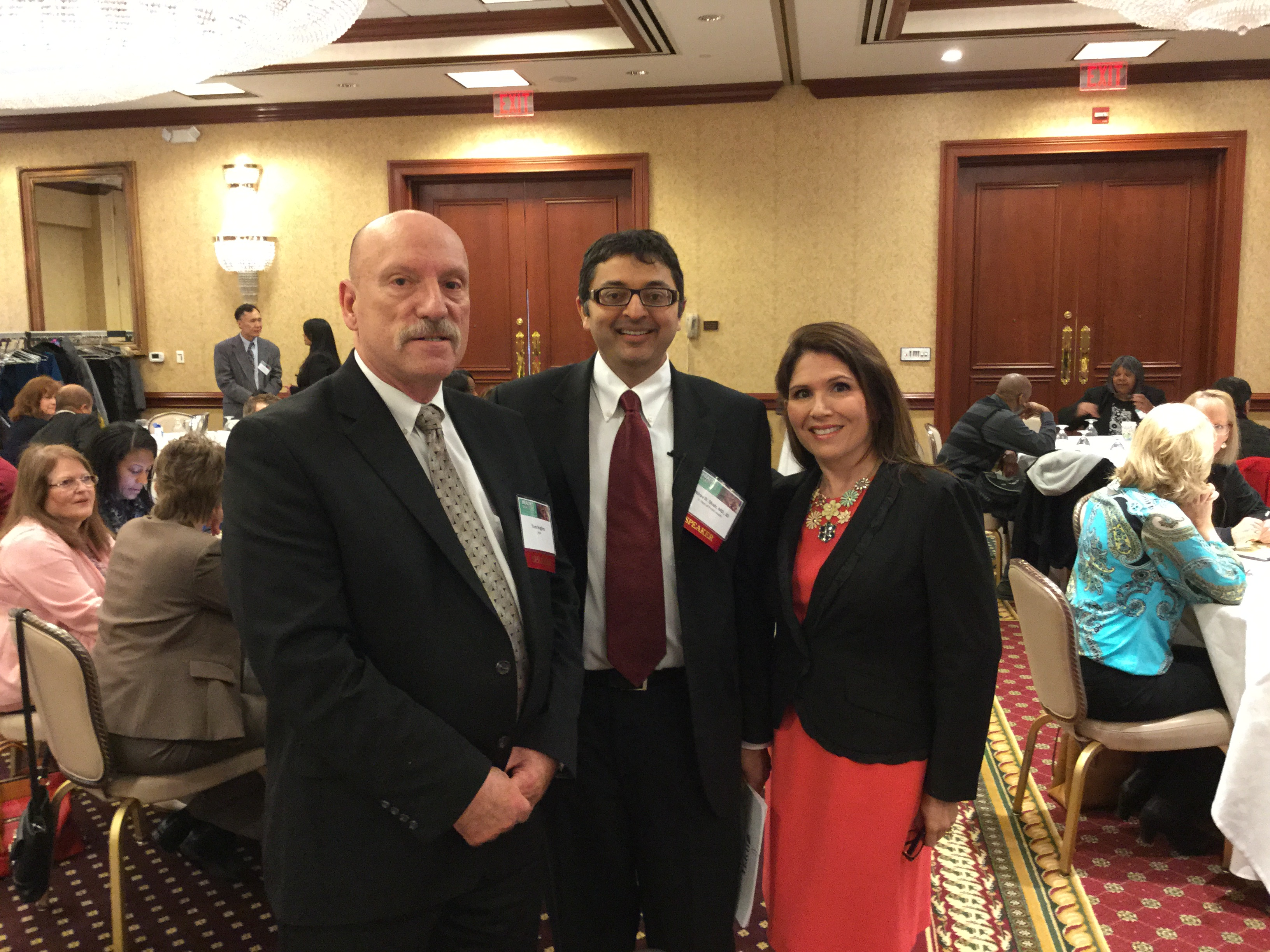 Lt. Governor and IDPH Director attend Minority Health Conference