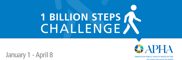 Join APHA's 2018 1 Billion Steps Challenge today