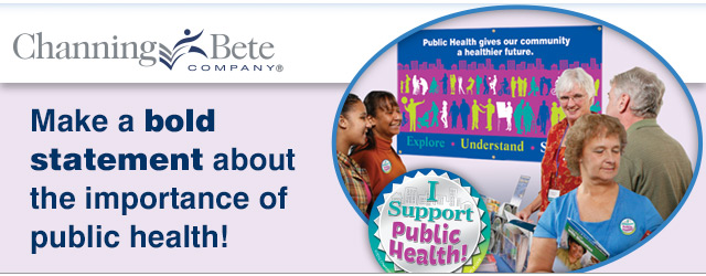 Colorful resources to help raise awareness for National Public Health Week