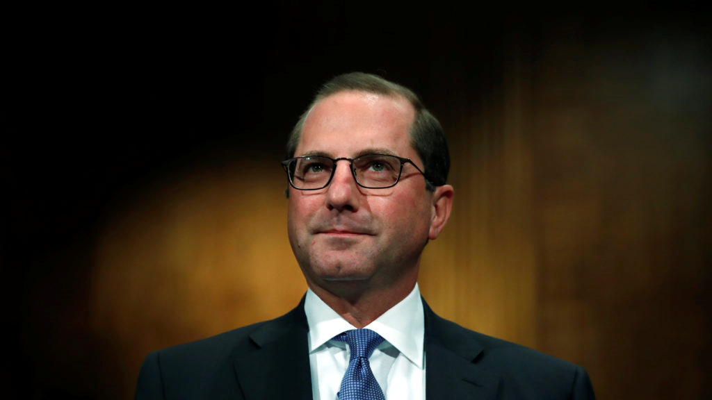 Senate confirms Alex Azar as Trump's second health secretary