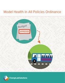 Model Health in All Policies Resolution