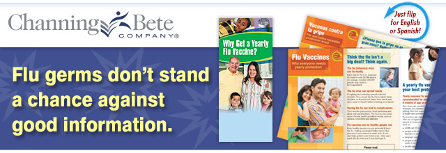 Flu season is closer than you think - outreach materials available